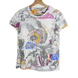See by Chloe All Over Drawing Art Shirt Women's
